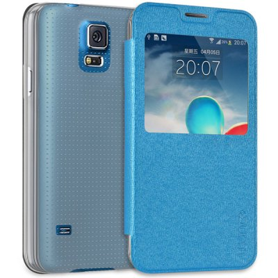 PC and PU Cover Case for Samsung Galaxy S5 i9600 SM-G900
