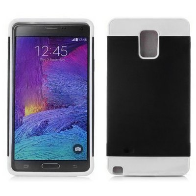 TPU and PC Back Cover Case for Samsung Galaxy Note 4 N9100