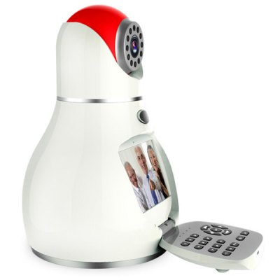 Фотография Wanscam HW0037 P2P WiFi 0.3MP IR - CUT IP Camera with Built - in 3C Intelligent Card for Security