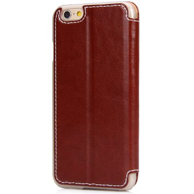 ФОТО PU Leather and Plastic Material Cover Case with Stand Function for iPhone 6  -  4.7 inches