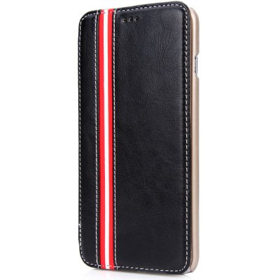 ФОТО Artificial Leather and Plastic Material Cover Case with Card Holder and Stand for iPhone 6 Plus  -  5.5 inches