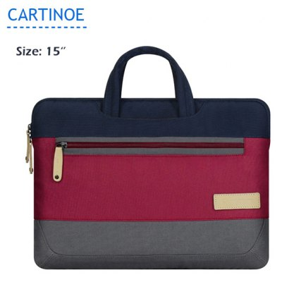 Cartinoe Notebook Laptop Sleeve Briefcase Inner Bag for 15 inch MacBook Air Lenovo Dell HP Asus Samsung Preppy Style Series
