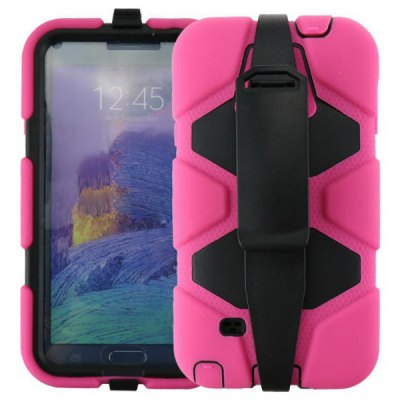 PC and Silicone Material Back Cover Case for Samsung Galaxy Note 4 N9100