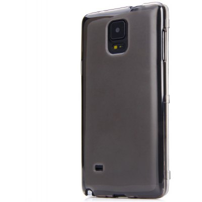 Fashionable TPU Material Transparent Cover Case for Samsung Galaxy Note4 N9100