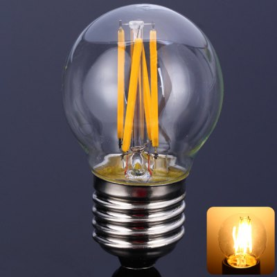 G45E27 - 4C2 3.5W E27 Small LED Filament Ball Bulb Bulbrite (320LM 2500 - 3000K)