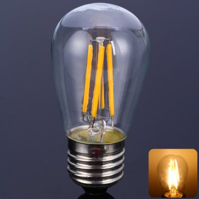 S45E27-4C2 E27 3.5W Warm White LED Filament Globe Bulb