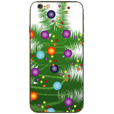 ФОТО Christmas Tree Pattern Design Phone Decal Skin Protective Full Body Sticker for iPhone 6 / 6S - 4.7 inches
