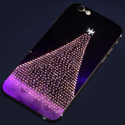 Фотография Christmas Tree Lamp Pattern Design Phone Decal Skin Protective Full Body Sticker for iPhone 6  -  4.7 inches
