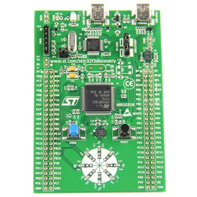 Гаджет   STM32 F3 Discovery STM32F303 Development Board with ST - LINK V2 for Experiments Project Boards & Shields