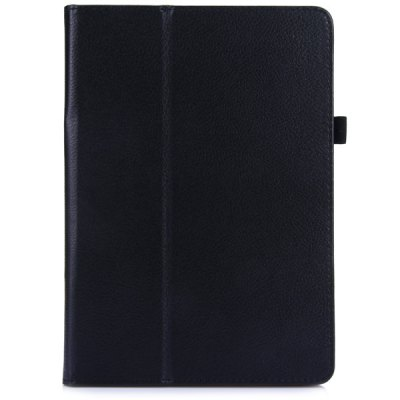 Fashionable Lichee Pattern PU Cover Case with Stand Function for iPad Air 2