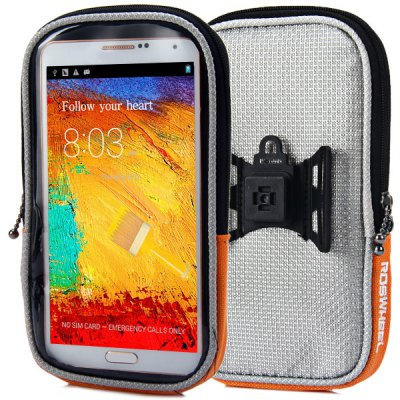 ROSWHEEL 5.5 inch Touch Screen Bicycle Phone Bag