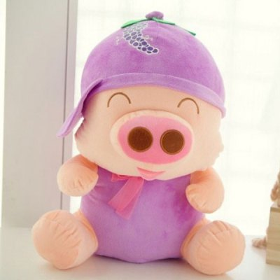 Lovely Watermelon Mcdull Pig Plush Doll 7 inch Fruit Pig Stuffed Toy от GearBest.com INT