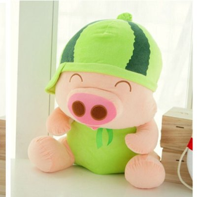 Lovely Pineapple Mcdull Pig Plush Doll 7 inch Fruit Pig Stuffed Toy от GearBest.com INT