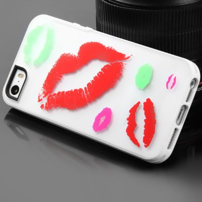 Гаджет   Glow in the Dark Luminous Cover Case for iPhone 5 / 5S iPhone Cases/Covers