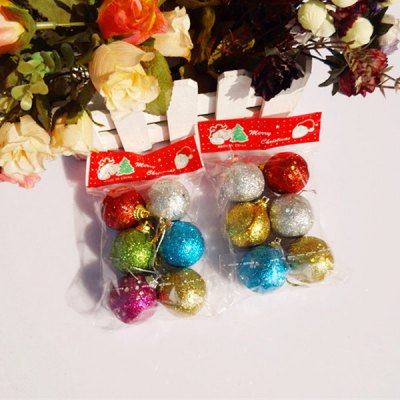 2 Packs x Exquisite Christmas Ball 4CM Mix Colour Plating Ball PendantChristmas Supplies<br>2 Packs x Exquisite Christmas Ball 4CM Mix Colour Plating Ball Pendant<br><br>Functions: Festival decoration<br>For: All<br>Usage: Performance, Party, Gift, Birthday, Christmas, New Year, Stage, Wedding<br>Package Quantity: 12<br>Product weight: 5 g (1 pcs)<br>Package weight : 0.06 kg<br>Product size (L x W x H) : 4 x 4 x 3 cm / 1.57 x 1.57 x 1.18 inches (1 pcs)<br>Package size (L x W x H): 15 x 8 x 10 cm<br>Package Contents: 12 x Xmas 4CM Mix Ball