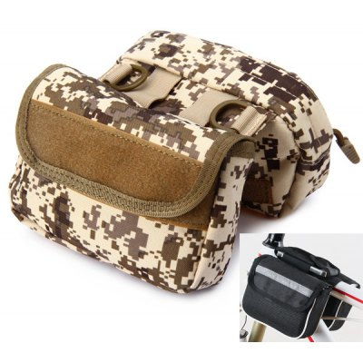 Multifunctional Dual Pocket Saddle Bag Pack Motorcycle Mountain Bike Bicycle Cycling Necessaries