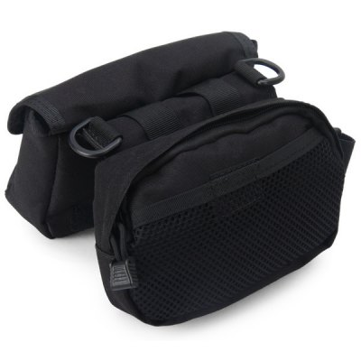 Гаджет   Multifunctional Dual Pocket Saddle Bag Pack Motorcycle Mountain Bike Bicycle Cycling Necessaries Bike Bags