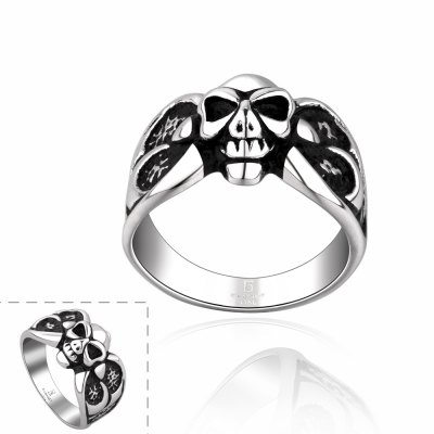 Stylish Retro Style Stainless Steel Ring For Men