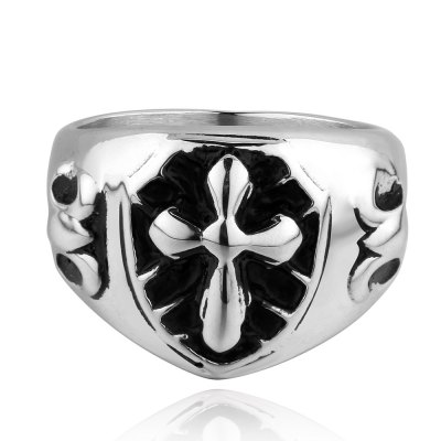 Vintage And Unique Style Cross Ring For Men And WomenMens Jewelry<br>Vintage And Unique Style Cross Ring For Men And Women<br><br>Gender: Unisex<br>Metal Type: Stainless Steel<br>Style: Trendy<br>Shape/Pattern: Cross<br>Weight: 0.04KG<br>Package Contents: 1x ring
