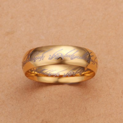Fashion  Grain Gold Ring For MenMens Jewelry<br>Fashion  Grain Gold Ring For Men<br><br>Gender: For Men<br>Metal Type: Silver Plated<br>Style: Trendy<br>Shape/Pattern: Round<br>Weight: 0.03KG<br>Package Contents: 1x ring