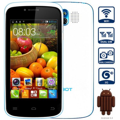 CUBOT GT95 3G Smartphone MTK6572 Dual Core 1.2GHz Android 4.4 4GB ROM With 4.0 i