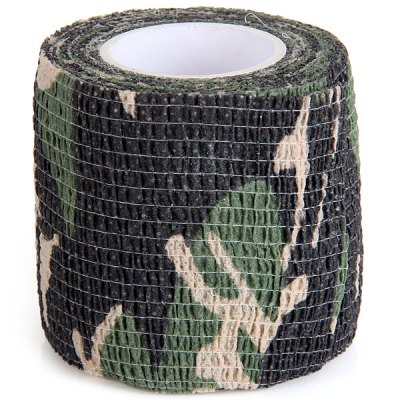 Гаджет   1PC Outdoor Wrap Rifle Props 4.5m Camouflage Stealth Tape Soldier Military Necessary