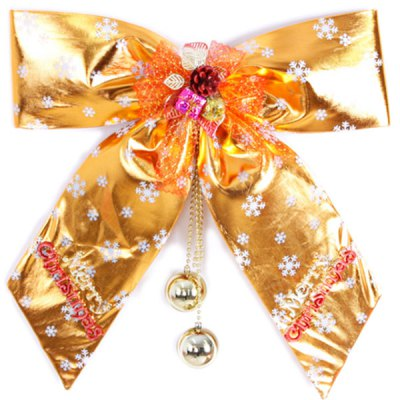 30cm Butterfly Knot BowKnot Pendant Christmas Tree Oranments от GearBest.com INT