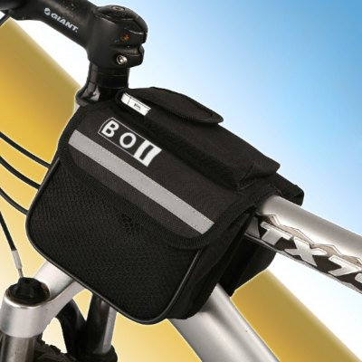 BOI Mountain Bike Saddle Bag Phone Pack Pocket Cycling Riding Necessaries