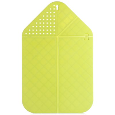 Multi - function Kitchen Cutting Board Folding Drip Water Basket Chopping Block