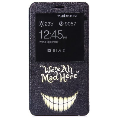 ФОТО Fashionable Tooth Pattern Plastic and PU Material Protective Cover Case