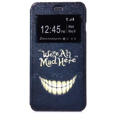 ФОТО Novelty Tooth Pattern PC and PU Material Protective Cover Case