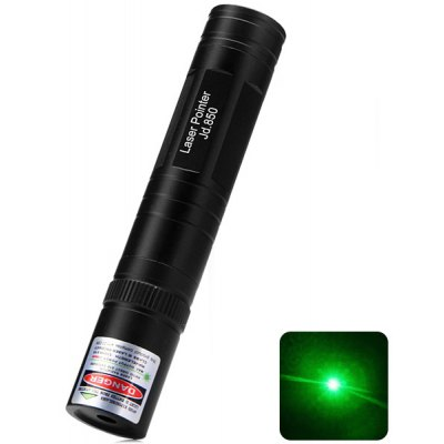 High Performance Jd.850 5mw 532nm Green Laser Pen CR123A Projector Laserpointer