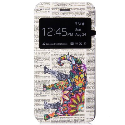 ФОТО Fashionable Colorful Elephant Pattern PC and PU Material Protective Cover Case