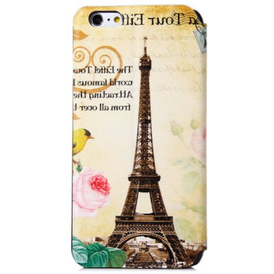 Фотография Novelty Eiffel Tower Pattern PC and PU Material Protective Cover Case