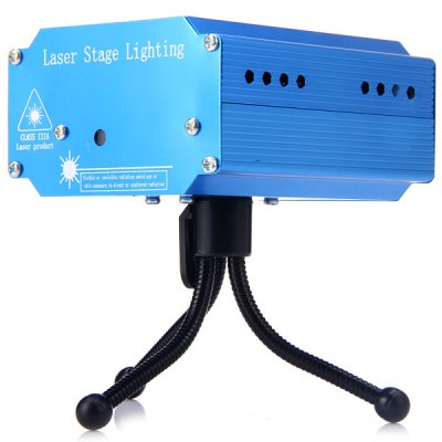 YX - 039 Mini Holographic Star Laser Projector DJ Disco Light Stage Laser Light  -  RGStage Lighting<br>YX - 039 Mini Holographic Star Laser Projector DJ Disco Light Stage Laser Light  -  RG<br><br>Model: YX-039<br>Type: DJ and Disco Light, RGB Stage Light, Laser Light, Projector Lamp<br>Color: Red Laser Pointer, Green Laser Pointer<br>Voltage: DC 5V<br>Function: For party<br>Shape: Laser Projector<br>Material: Aluminum Alloy<br>Product Weight: 0.196 kg<br>Package Weight: 0.362 kg<br>Product Size(L x W x H): 11 x 8.8 x 5.2 cm / 4.3 x 3.5 x 2.0 inches<br>Package Size (L x W x H): 12 x 11 x 9 cm<br>Package Contents: 1 x Laser Stage Light Projector, 1 x US Power Adapter, 1 x Stand, 1 x User Manual