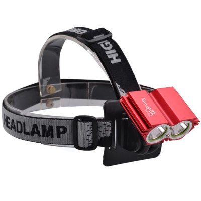 SingFire SF - 804A 2 x CREE T6 2000Lm 3 - Mode 18650 Owl Shaped LED Bicycle Headlight от GearBest.com INT