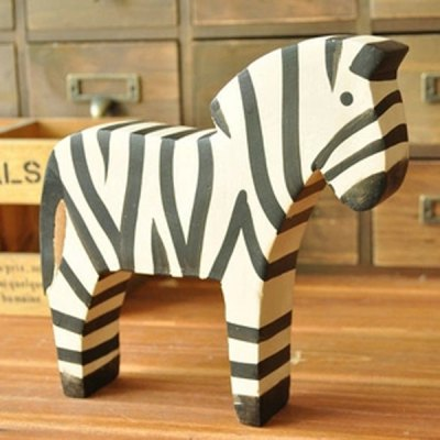 2Pcs / Lot Wooden Classic Nordic Country Style Hand - painted Zebra Crafts Home Decor CarvingCrafts<br>2Pcs / Lot Wooden Classic Nordic Country Style Hand - painted Zebra Crafts Home Decor Carving<br><br>Subjects: Animal, Cute<br>Material: Wood<br>Functions: Home decoration<br>For: Sisters, Student, Lovers, Friends, Teachers, Brothers<br>Usage: Christmas, New Year, Wedding, Party, Birthday<br>Color: Assorted Colors<br>Product weight: 0.320 kg<br>Package weight : 0.500 kg<br>Product size (L x W x H): 14.5 x 2.8 x 12.5 cm / 5.7 x 1.1 x 4.9 inches (Small); 19.0 x 3.5 x 18 cm / 7.5 x 1.4 x 7.1 inches (Big)<br>Package size (L x W x H): 21.0 x 5.0 x 20.0 cm<br>Package Contents: 2 x Wooden Zebra