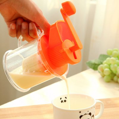 Healthy Mini Hand Cranking Juicer Manual Hand Powered Juice Extractor