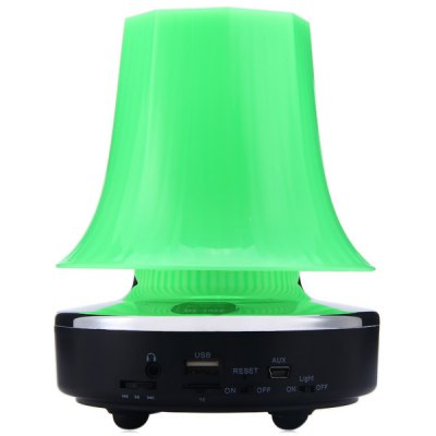 Гаджет   QC - 1020 High Performance Colorful LED Lighting Stage Speaker Built - in Rechargeable Lithium Battery Support TF Card USB Input Speakers
