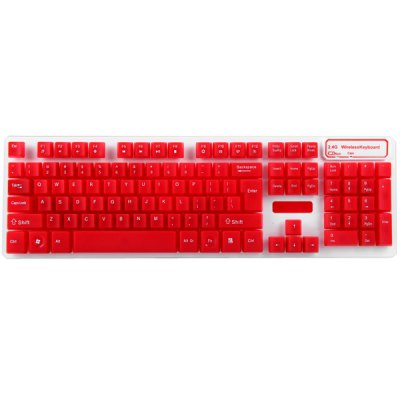Гаджет   HK5200 2.4GHz Power Saving Wireless Suspended Keyboard and Mouse Kit for Home Office