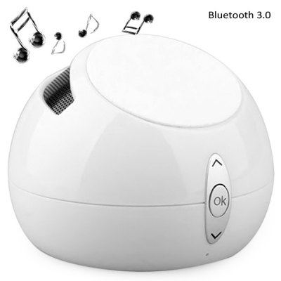 ФОТО HS - T5 2 in 1 Wireless Bluetooth 3.0 Radio Speaker Phone Display Stand with Hands - free Calls for Home Office