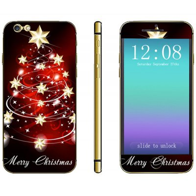 Anti - scratch Phone Full Body Sticker with Star Pattern for iPhone 6  -  4.7 inches
