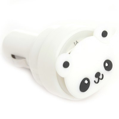Гаджет   CHA - 04 Dual Output Interface Car Charger with Panda Design for iPhone 6 / 6 Plus iPad iTouch HTC Cell Phone Samsung Chargers