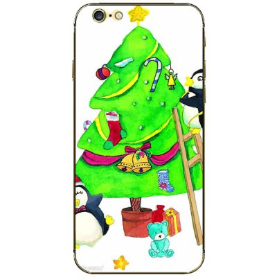 Anti - scratch Mobile Phone Full Body Sticker with Christmas Tree Bear Style for iPhone 6  -  4.7 inchesiPhone Cases/Covers<br>Anti - scratch Mobile Phone Full Body Sticker with Christmas Tree Bear Style for iPhone 6  -  4.7 inches<br><br>Compatible for Apple: iPhone 6<br>Features: Stickers, Full Body Cases<br>Material: Vinyl<br>Style: Special Design, Cartoon, Novelty<br>Product weight : 0.004 kg<br>Package weight : 0.05 kg<br>Product size (L x W x H): 14.2 x 6.9 x 0.3 cm / 5.6 x 2.7 x 0.1 inches<br>Package size (L x W x H) : 19.6 x 8.5 x 0.4 cm<br>Package contents: 1 x Sticker