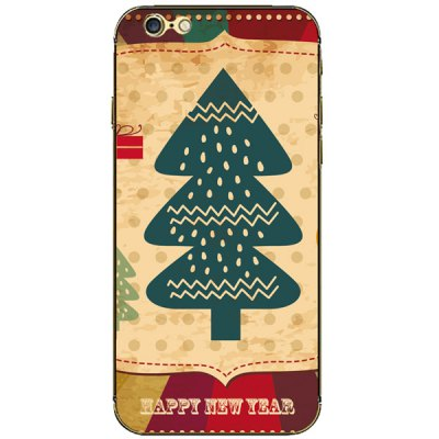 Гаджет   Anti - scratch Mobile Phone Full Body Sticker with Christmas Tree Dots Style for iPhone 6  -  4.7 inches iPhone Cases/Covers
