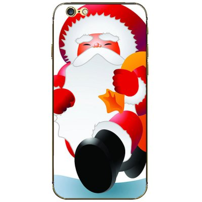 Гаджет   Anti - scratch Cellphone Full Body Sticker with Santa Claus Style for iPhone 6  -  4.7 inches iPhone Cases/Covers