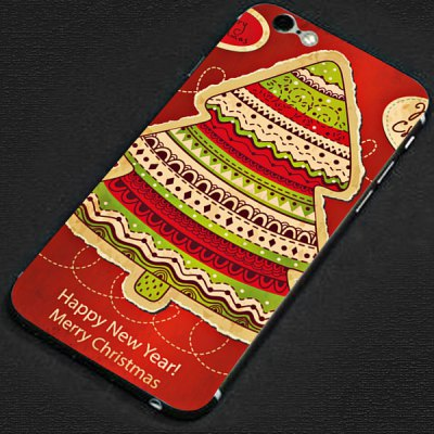 Фотография Anti - scratch Design Phone Full Body Sticker with Christmas Tree Style for iPhone 6  -  4.7 inches