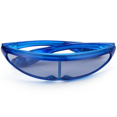 Гаджет   Flash Space Glasses with LED for Christmas Toy Gift Home Gadgets
