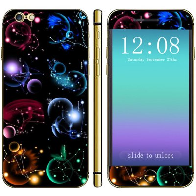 Planet Pattern Phone Decal Skin Protective Full Body Sticker