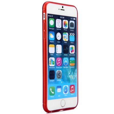 ФОТО Transparent Ultrathin TPU Material Back Case for iPhone 6 Plus  -  5.5 inches
